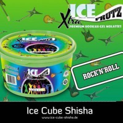 Ice frutz Xtra Shisha dampgel 100 g Rock 'nroll