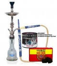 Khalil Mamoon Cafe Shisha Hookah with Starbuzz Coal and Steam Stones