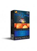Hierbas Premium Delta para shisha SIN NICOTINA – Sabor: Mandarina