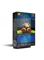 Hierbas Premium Delta para shisha SIN NICOTINA – Sabor: Tres Manzanas