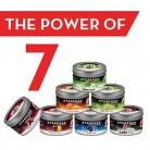 7 Packs Starbuzz Hookah Tobacco Flavors 100g