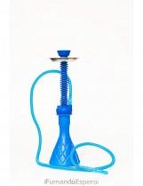Shisha – Cachimba de Silicona (50 cm) – Color: Azul