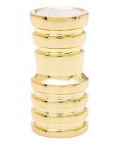 AMY Shisha Deluxe adaptador de manguera para pipa de agua de oro
