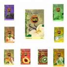 9 Paquete x 50g Sabor SURTIDO Hibron Hierba Para Shisha Cachimba Sin Nicotina