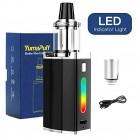 Cigarrillos Electronicos Kit, Yumapuff Robin Cigarrillo Electrónico 50W Con 1500mah