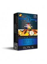 Hierbas Premium Delta para shisha SIN NICOTINA – Sabor Tropical