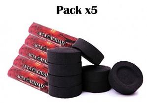 [Pack] 5 rollos de carbón para cachimba