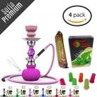 Soria.Premium (Pack 4) 1Cachimba 28cm + 1Sabor (sin nicotina)